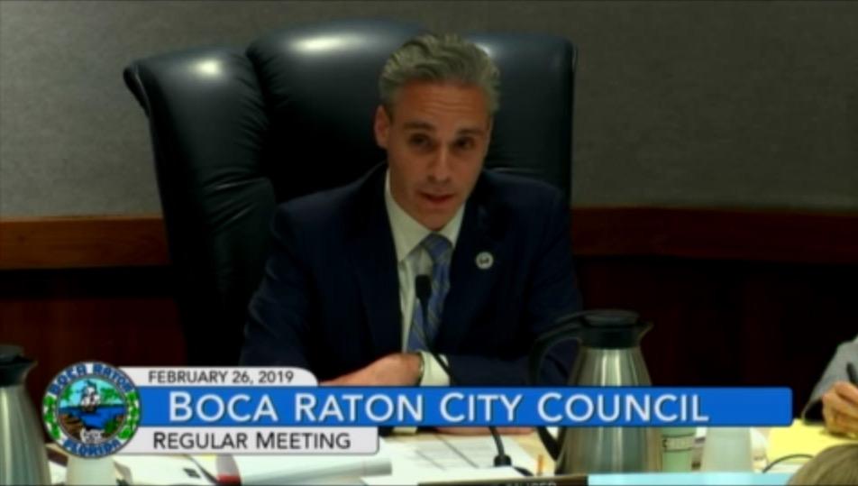 Mayor Scott Singer