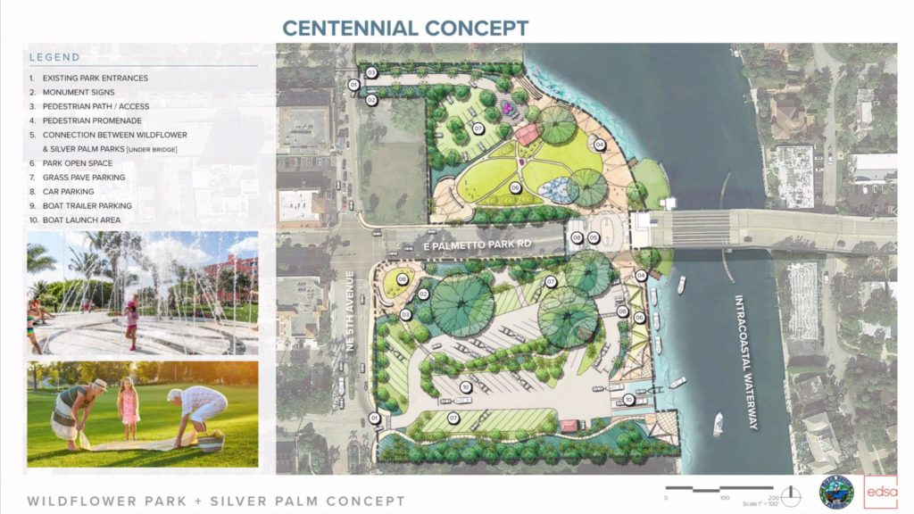 Wildflower/Silver Palm Park Concept