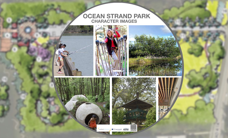 EDSA: Ocean Strand Character Images from Waterfront Master Plan