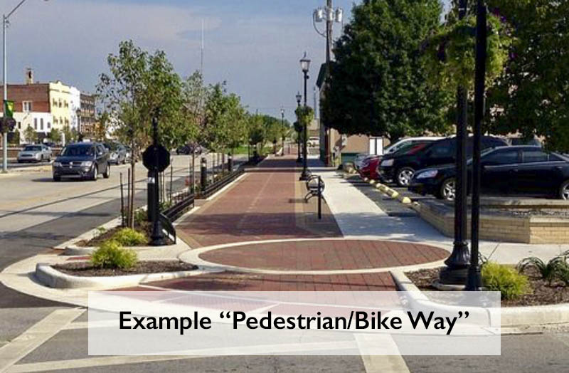 Example Pedestrian/Bike Way