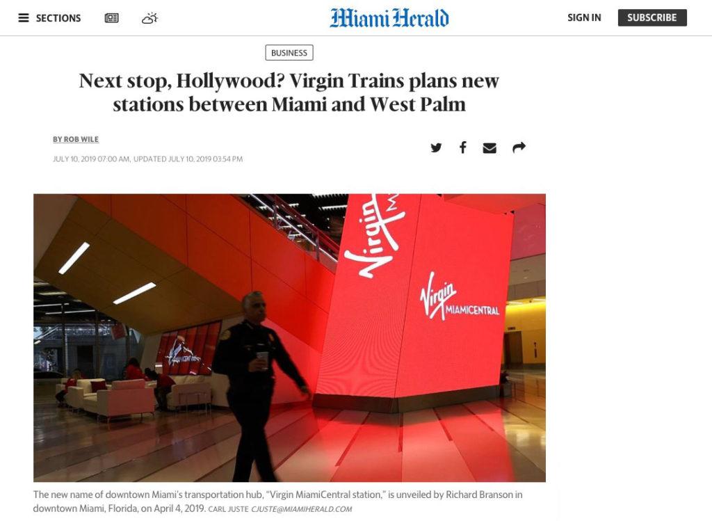 New Miami Transportation hub