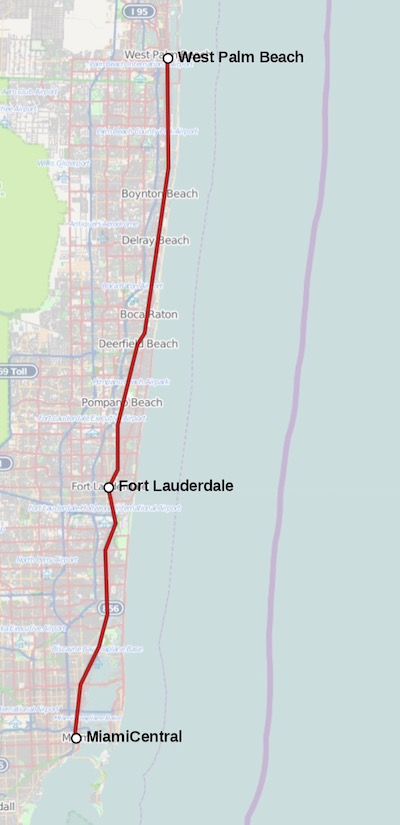 brightline route map
