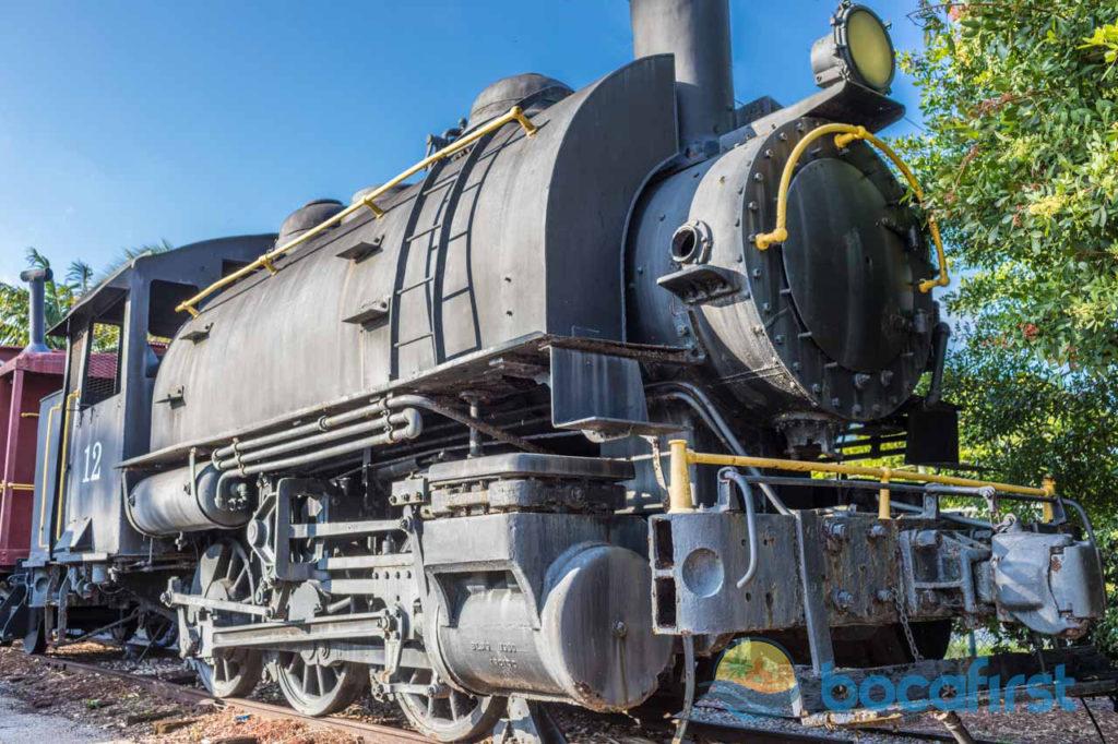 1933 Steam Locomotive at old Boca Raton Station