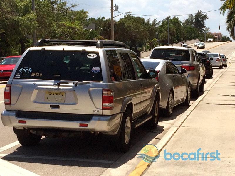 Beach - parking