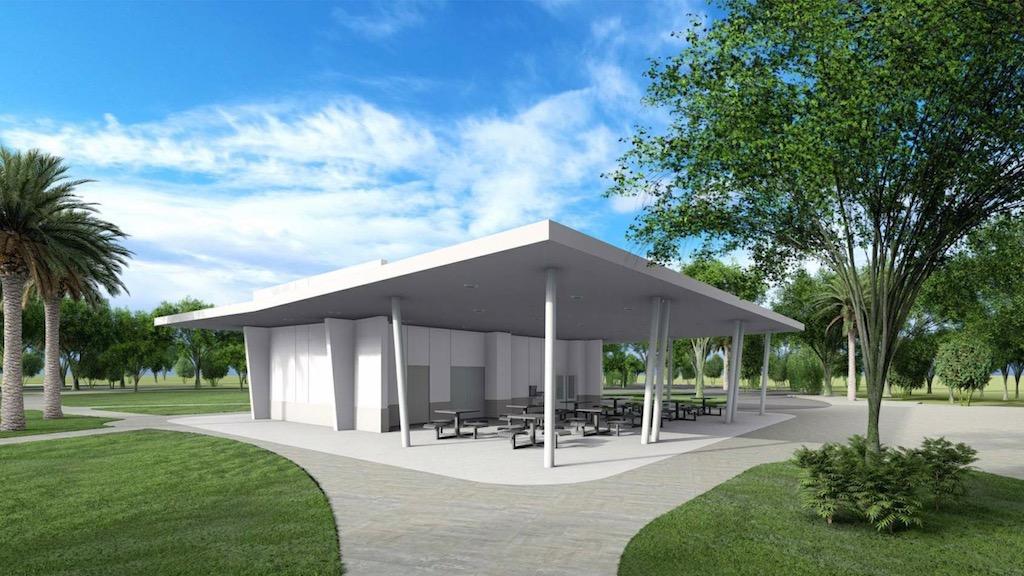 Wildflower pavilion by EDSA