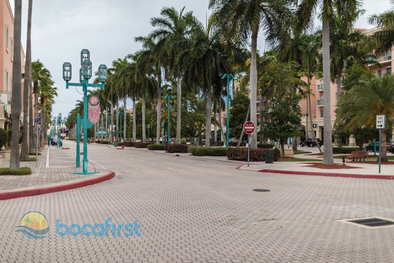 Mizner Park during Pandemic