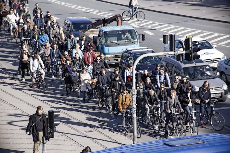 Copenhagen Bicyclists