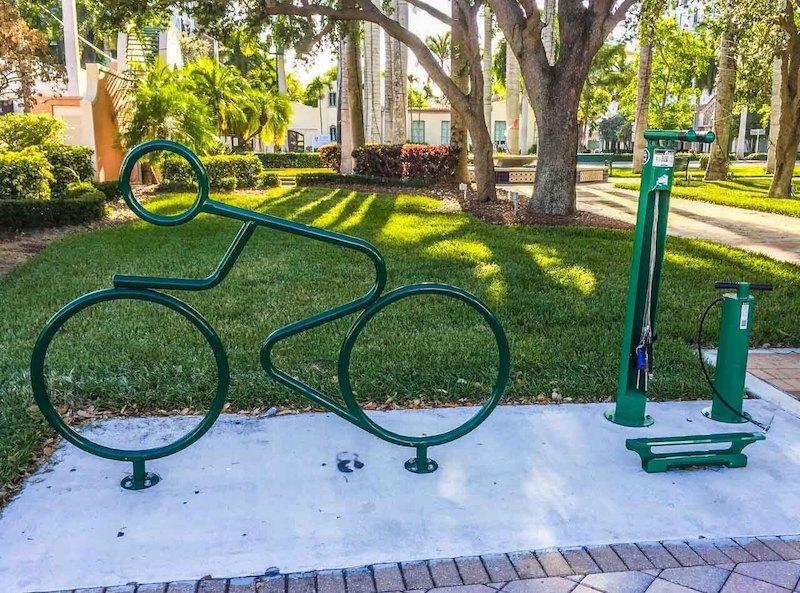 Bike Station at Sanborn Sq in Boca Raton