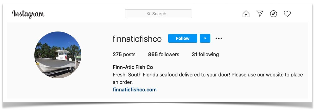 @Finnaticfishco on Instagram